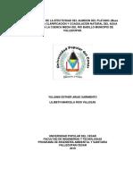 Evaluacion de La Efectividad de El Almidon de Platano Para La Purificacion y Coagulacion Natural Del Agua Cruda