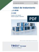 Manual de unidad de tratamiento de aire TROX