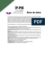 Base datos mpgs españa