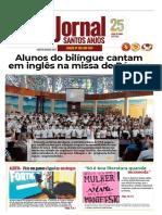 leitores, pais, alunos e educadores, o número 100 do Jornal Santos Anjos