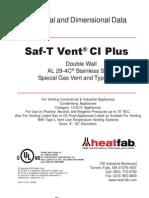 Saf-t Vent Ci+ Al-429c