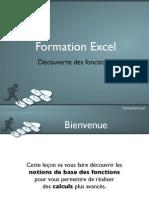 Découverte des fonctions Excel - Aperçu