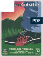 Green & White Magazine | Portland Timbers vs. Chicago Fire | Aug. 14, 2019
