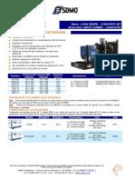 440kva Generador Diesel j440k (Espanol)