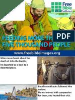 10. Feeding Five Thousand Jesus Walk