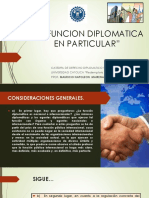 La Funcion Diplomatica en Particular Ppt- Sesion 2 - 140819
