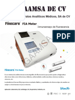 GAAMSA Brochure FineCare Wondfo 2018