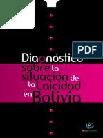 Diagnostico Sobre La Situacion de La Laicidad en Bolivia