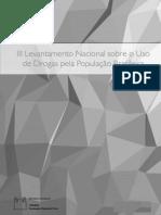 III Levantamento Nacional do Uso de Drogas na População Brasileira