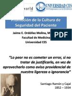 Promocion Cultura Seguridad del Paciente  mayo 20 de 2010 280510 l8.pptx