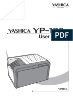 Yashica Yp-120 User Manual