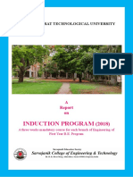 Report of Induction Program