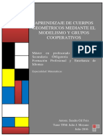 APRENDIZAJE DE CUERPOS GEOMETRICOS MEDIANTE EL MODELISMO Y CUERPOS GEOMETRICOS