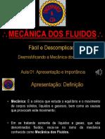 MecFlu01 Apresentação Da Mecânica Dos Fluidos Nov Versao