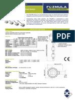 Data Sheet Fozmula TLL70 Fozmula Vertical Float Switch