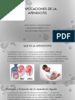 Complicaciones de La Apendicitis