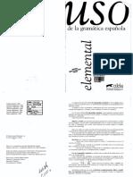 Uso de la Gramática Española - Elemental