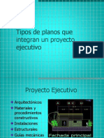4_proyecto_ejecutivo TIPOS de PLANOS