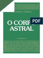 Powell, Arthur - O Corpo Astral (Revisado)