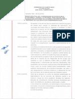 Orden Ejecutiva de Ricardo Rosselló - 7 Condados