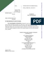 Eastman Marine Construction, LLC and Ashley Eastman.