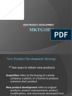 Ppt New Prod Dev and Pricing Mktg
