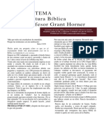 Sistema de Lectura Biblica Grant Horner