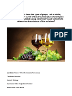 Does grape type affect growth curves of leavening agents and therefore final alcohol content in wine?