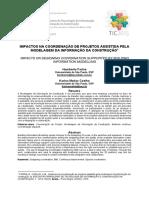 006_impactos Na Coordenação de Projetos Assistida Pela Modelagem Da Informação Da Construção
