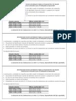 Recomendaciones Generales Para La Evaluación de Salud