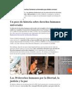 La Lista Con Los 30 Derechos Humanos Universales Que Debes Conocer