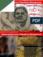 naturoterapia para climaterio