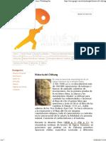 Historia Del Chikung - Taichi y Chikung - Estilos Chen y Wudadang Sanfeng Taiji