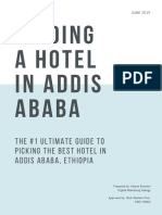 Introduction to Hotels in Addis Ababa
