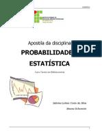 Apostila Probabilidade e Estatística