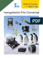 Refrigeracion FrioComercial Tarifa PVP SalvadorEscoda Nov17