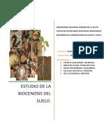 La biocenosis