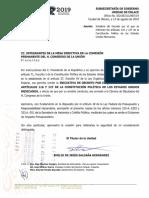 Iniciativa Lopez Obrador Art 116 Constitucional