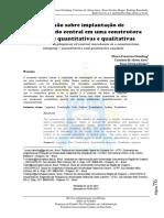 Decisão sobre implantação de almoxarifado central em uma construtora - análises quantitativas e qualitativas