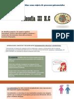 Prejuicios, Estereotipos y Discriminacion FIL III H.C