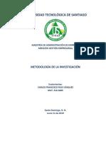 Trabajo de Metodología de La Investigación Carlos