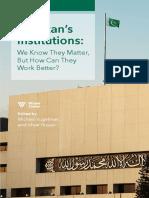 Pakistan's Institutions