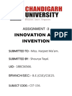 Innovation Assignment 3