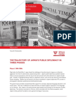 Public Diplomacy and the Evolution of u.s.-japan Relations Watanabe