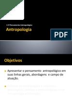 Pensamento antropológico