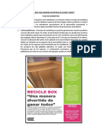 Recicle Box Una Manera Divertida de Ganar Todos
