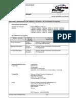 MSDS Scentinel E Gas Odorant