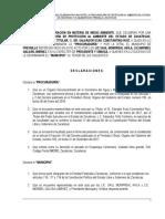 Convenio de Colaboraciòn Procuradurìa Ambiental