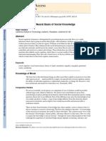 Adolphs - 2009 - The Social Brain Neural Basis of Social Knowledge