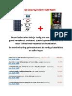 Kostprijs Solarsysteem 400 Watt.docx